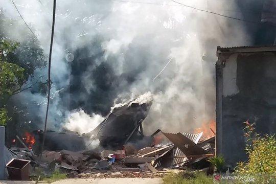 Cerita warga selamatkan pilot pesawat tempur jatuh