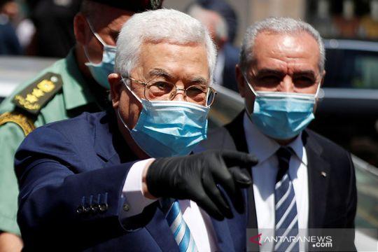 Mahmoud Abbas berkunjung ke Ramallah