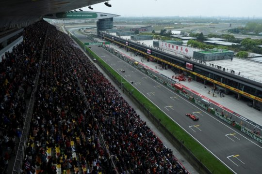 China ditawari menggelar dua balapan Formula Satu musim ini