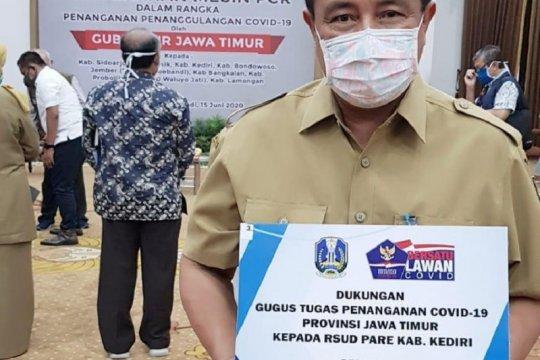 "Kabupaten Kediri dapat mesin ""PCR"""