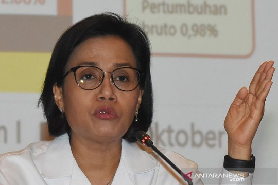Sri Mulyani sebut belanja negara semester I 2020 tumbuh 3,3 persen