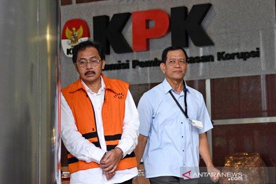 KPK setor Rp4,2 miliar dari uang pengganti perkara Nurdin Basirun
