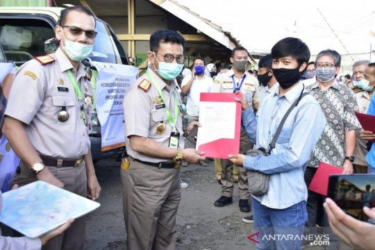 Mentan lepas ekspor enam komoditas unggulan Jawa Barat