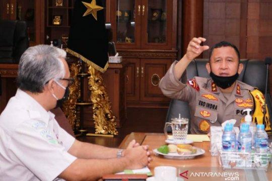 BMKG Palembang koordinasi dengan Polda Sumsel antisipasi karhutla