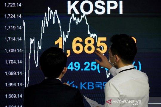 """Saham Korsel """"rebound"""", indeks KOSPI terangkat 1,36 persen"""