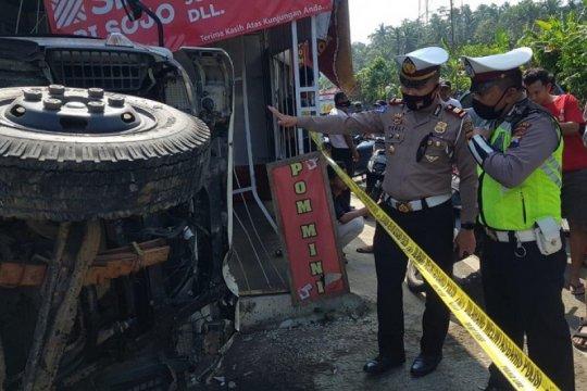 Polisi: Kecelakaan lalu lintas di Magelang akibatkan dua korban tewas