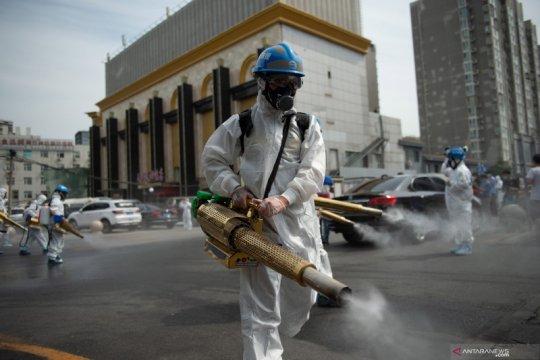 Wabah kembali merebak di Beijing, China tingkatkan kebersihan pasar