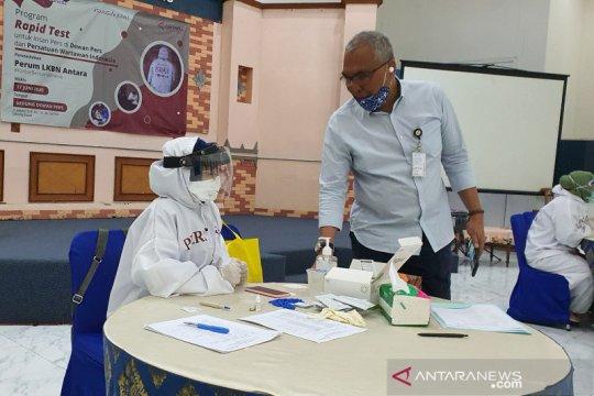 """LKBN ANTARA selenggarakan """"rapid test"""" di PWI Pusat dan Dewan Pers"""