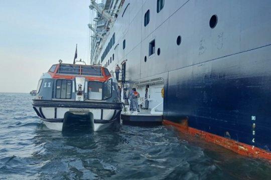 Evakuasi ABK MV Eurodam dibagi dua gelombang