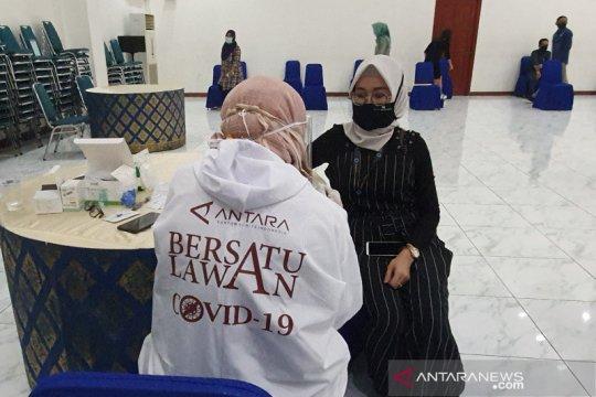 LKBN Antara tes cepat 100 anggota Dewan Pers-PWI cegah COVID-19
