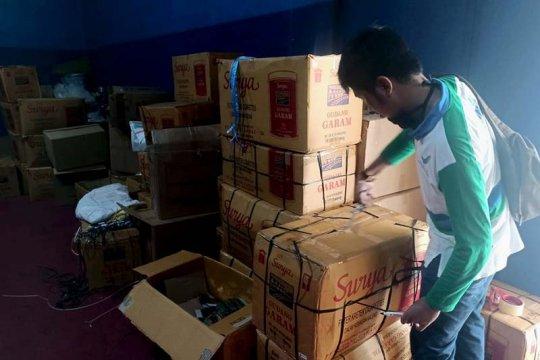 Petugas Loka POM Banyumas gerebek pabrik jamu ilegal di Cilacap