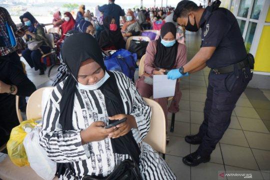 135 pekerja migran ilegal dipulangkan ke Tanjungbalai