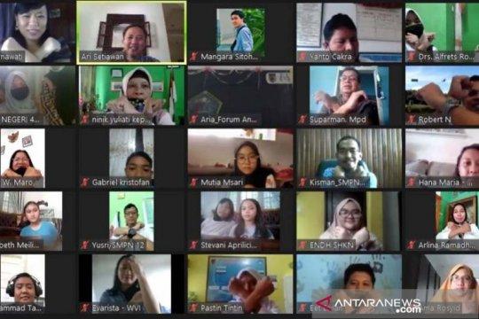 Wahana Visi Indonesia rapat daring menjelang normal baru di sekolah
