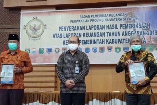 Kabupaten OKI Sumsel pertahankan opini WTP sembilan kali berturutan