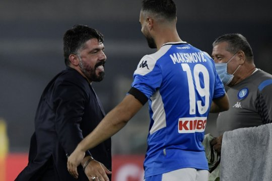 "Juara Coppa Italia, Gattuso sebut-sebut ""Dewa Sepak Bola"""