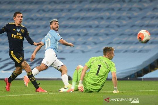 Aguero terancam absen hingga akhir musim, kata Guardiola