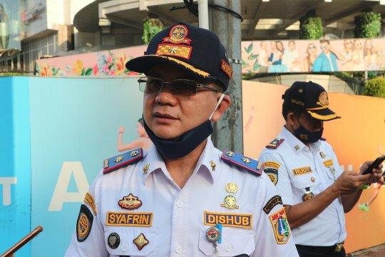 PSBB Jakarta, volume kendaraan sepekan turun hingga 19 persen