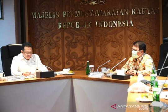 Pimpinan MPR sepakat hentikan sementara bahas RUU HIP