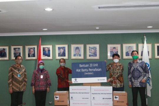 BKPM terima donasi 20 ventilator dari Hyundai