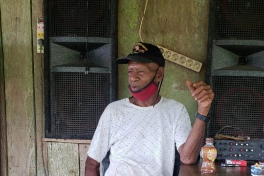 Tokoh adat mengajak warga jaga kamtibmas di Papua