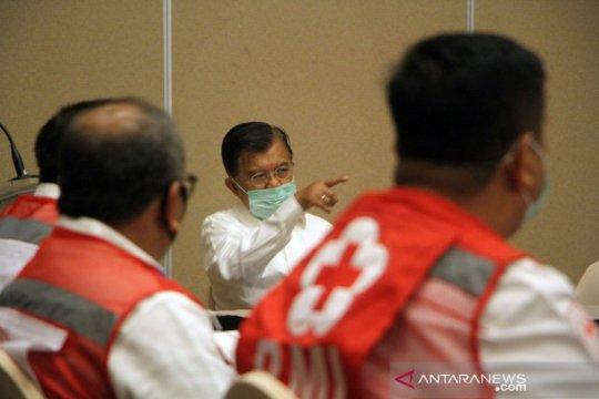 JK minta seluruh PMI bekerja ekstra tangani pandemi COVID-19