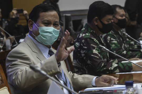 Raker Menhan dan Panglima TNI dengan Komisi I DPR