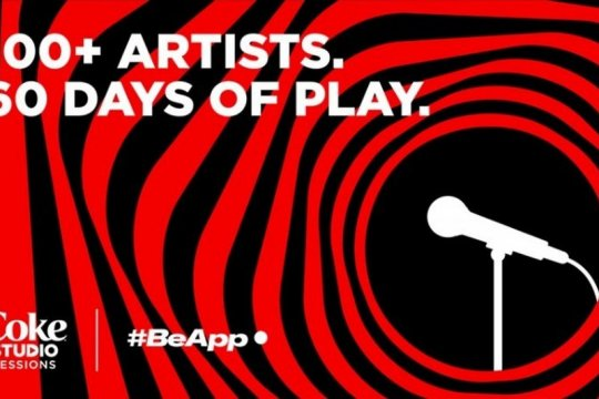 Aplikasi BeApp luncurkan konser musik daring, Coke Studio Sessions