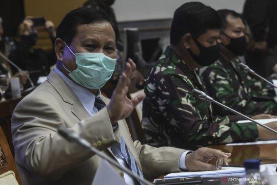 Prabowo apresiasi dukungan fraksi di DPR perkuat TNI