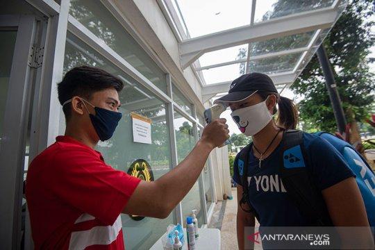 Petenis putra kembali ke pelatnas di Jakarta