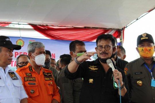 Mentan ajak peternak dan petani Lampung berkreasi serta berinovasi