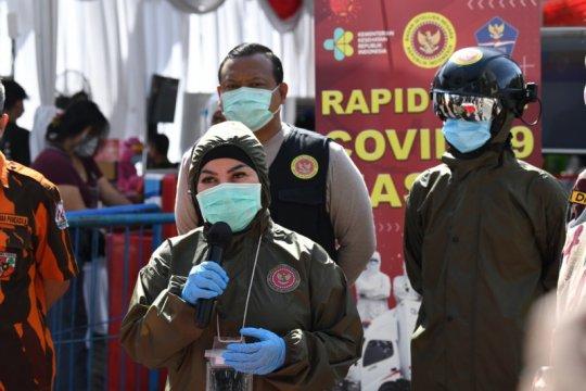 Tes cepat BIN di Surabaya, angka reaktif COVID-19 perlahan turun