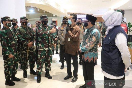Panglima TNI-Kapolri tinjau kesiapan pusat perbelanjaan di Malang