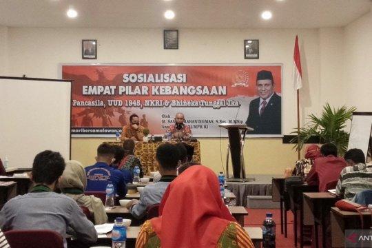 Anggota DPR Sanusi Rahaningmas sosialisasikan empat pilar kebangsaan