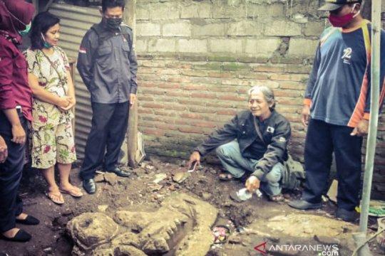 BPCB Trowulan identifikasi fragmen arca kala di Tulungagung