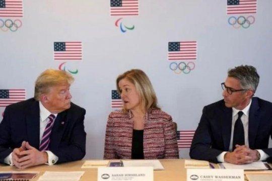 AS buka pusat pelatihan Olimpiade setelah ditutup akibat COVID-19