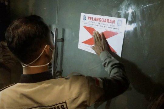 Tujuh pengunjung RHU dikenai sanksi langgar protokol kesehatan