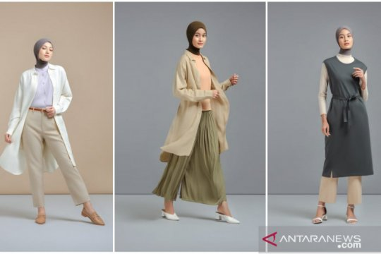 "Tips ""mix and match"" gaya busana modest-minimalis ala Ayudia C"