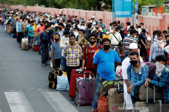 India catat rekor 15.000 kasus baru COVID-19 dalam sehari