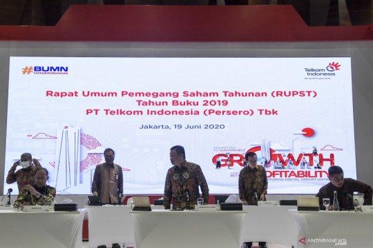 Telkom bukukan laba bersih Rp5,86 triliun pada kuartal pertama 2020