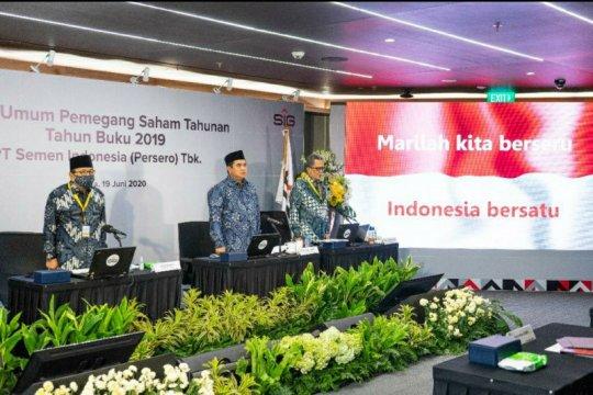 Semen Indonesia catat kenaikan pendapatan 31,5 persen pada 2019
