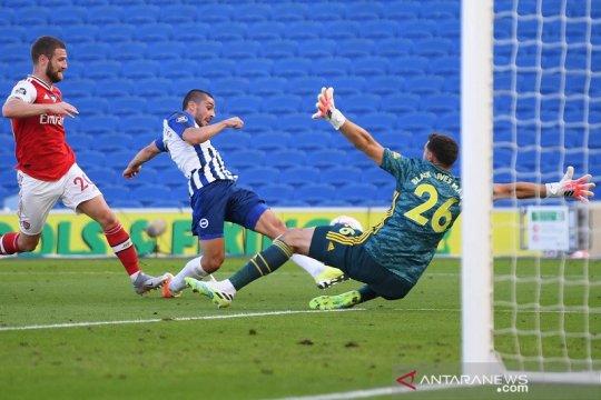 Arsenal pulang dengan tangan hampa dari Brighton akibat gol akhir laga