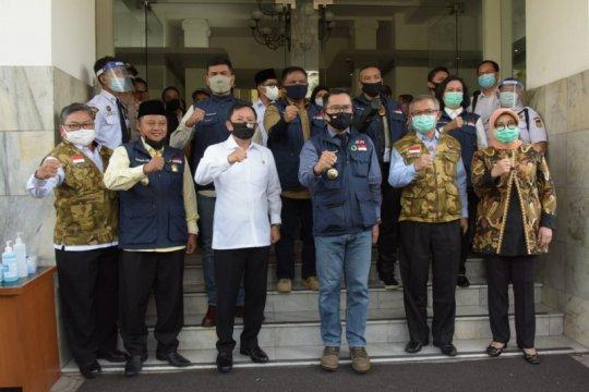 Dua menteri puji penanggulangan COVID-19 Pemprov Jabar