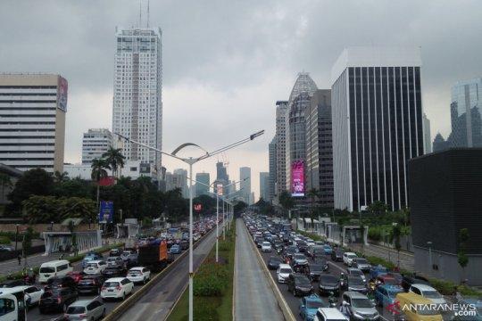 Cuaca Jakarta Rabu pagi diprediksi cerah berawan