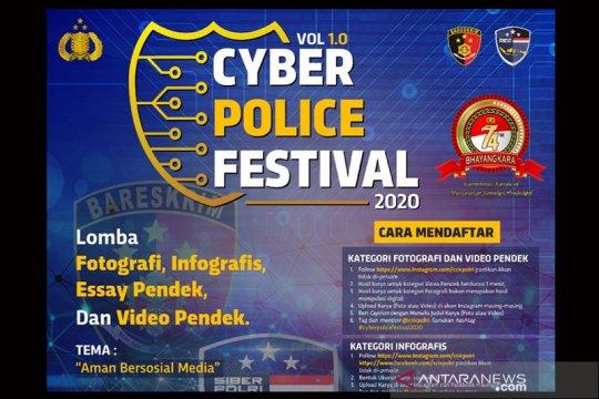 "Sambut HUT Bhayangkara, Bareskrim gelar ""Cyber Police Festival"""