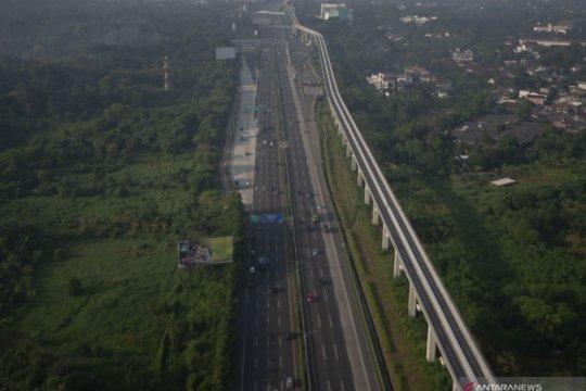 Perkembangan proyek LRT Jabodebek