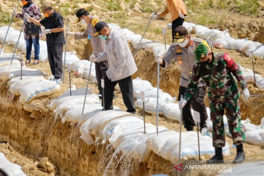 Polda Gorontalo musnahkan 36,7 ribu liter minuman keras