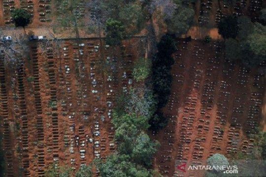 Brazil kembali catat rekor, 42.725 kasus baru corona dalam 24 jam