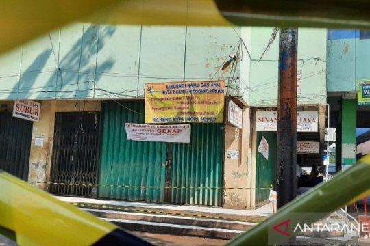 Perumda Pasar Jaya tutup tujuh akses masuk Pasar Minggu