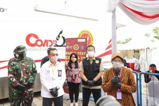 Mobil PCR BIN akhiri masa tugasnya di Surabaya