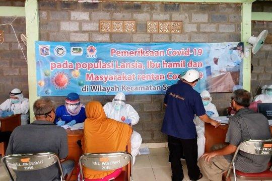 209 warga Paseban ikut 'rapid kampung' perdana di Kecamatan Senen